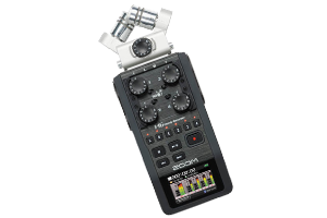Zoom H6 Handy Stereo Field Recorder