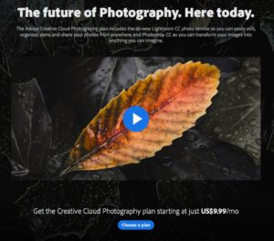 Adobe Creative Photography Bundle