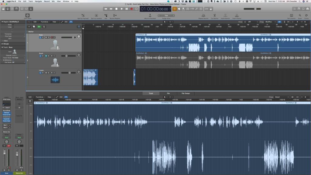 Apple Logic Pro X Interface