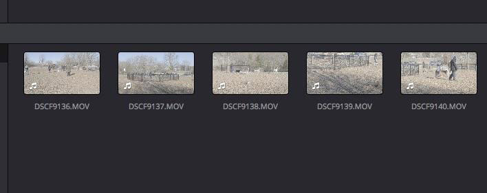 Making Better Videos: Video Clips with Audio in a Media Bin