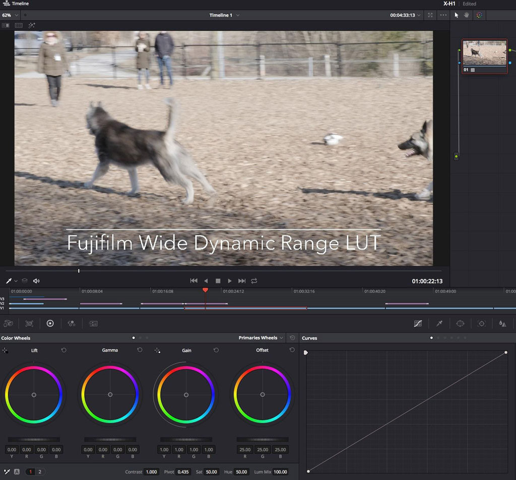 Making Better Videos: Colour Correction using LUTs in Resolve 15 Beta