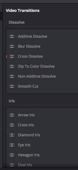Making Better Videos: Examples of Transitions in Resolve 15 Beta