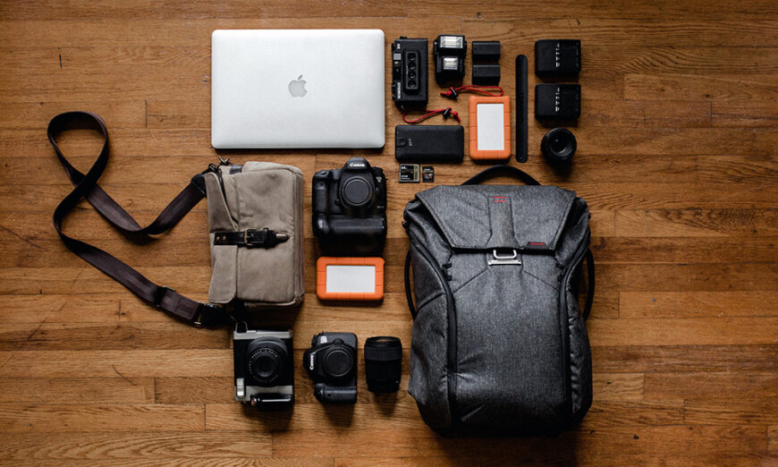 Camera Bag and Gear