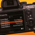 Custom Shortcuts on Sony Alpha a7 III