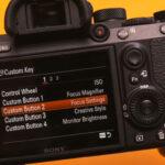 Custom Shortcuts on Sony Alpha a7 III