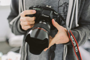 Canon EOS 6D with Lens