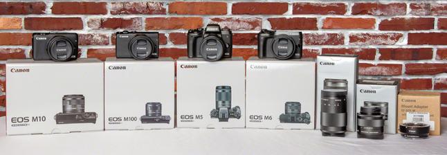 Canon EOS M Family of Cameras