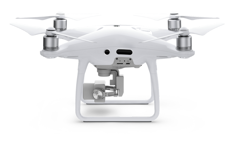 Side view of the Phantom 4 Pro
