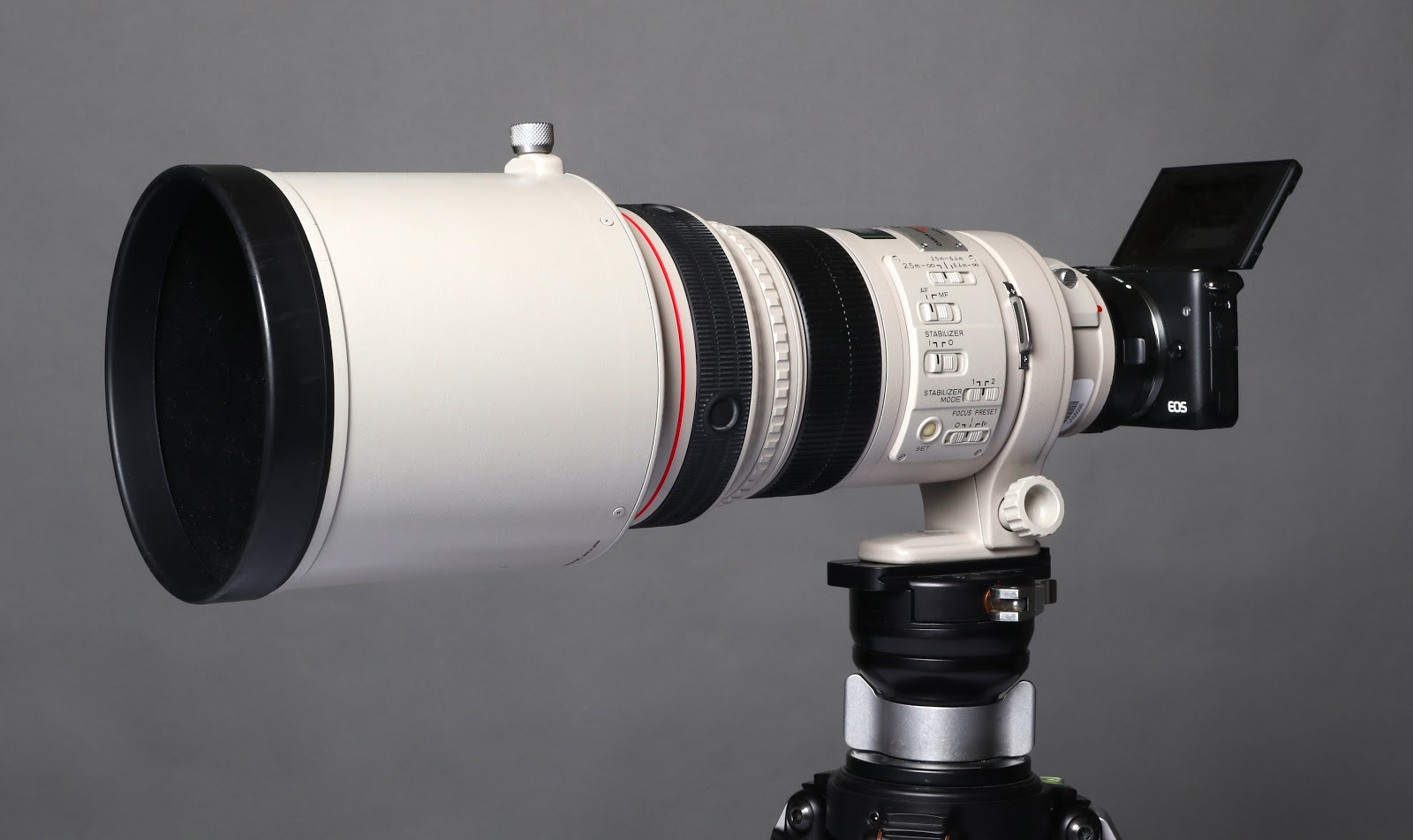 Using the Canon EOS M10 with a 300mm L Lens