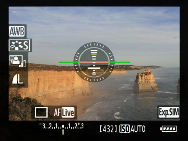Exposure Simulation Mode