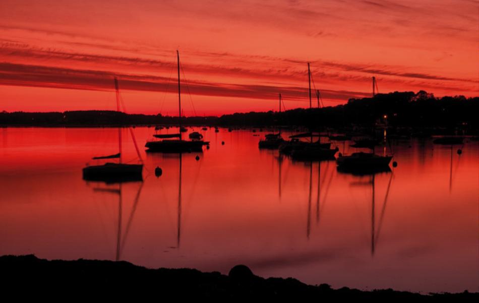 Figure 5: Sunset Graduated Filter