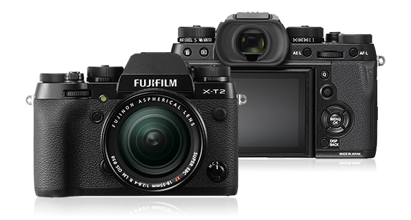 Fujifilm X-T2 (with 18-55mm f/2.8-4 R LM OIS lens)