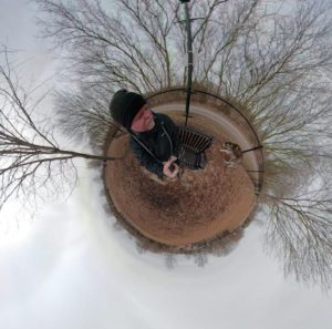 GoPro Fusion Tiny Planet Rendering