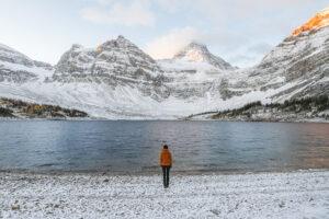 Sunrise at Assiniboine Provincial Park