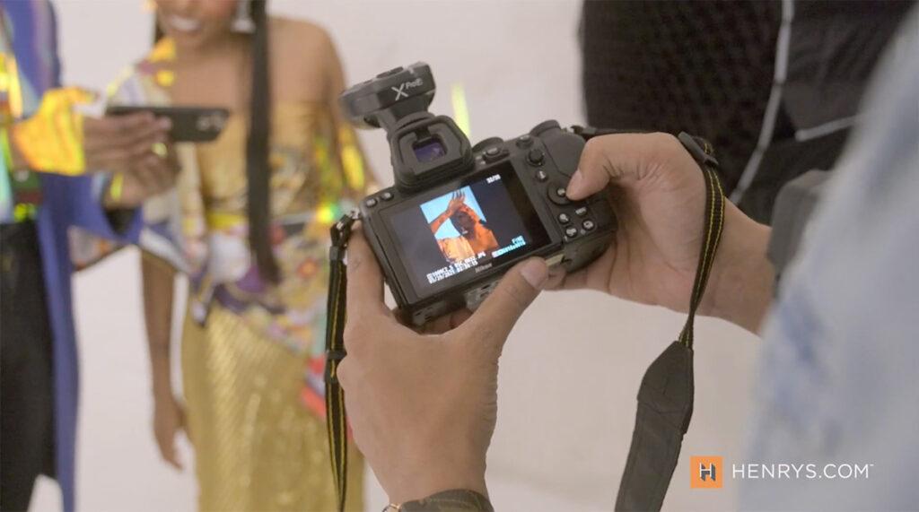 Photo shoot with Nikon Z5