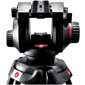 Manfrotto 504HD showing drag controls