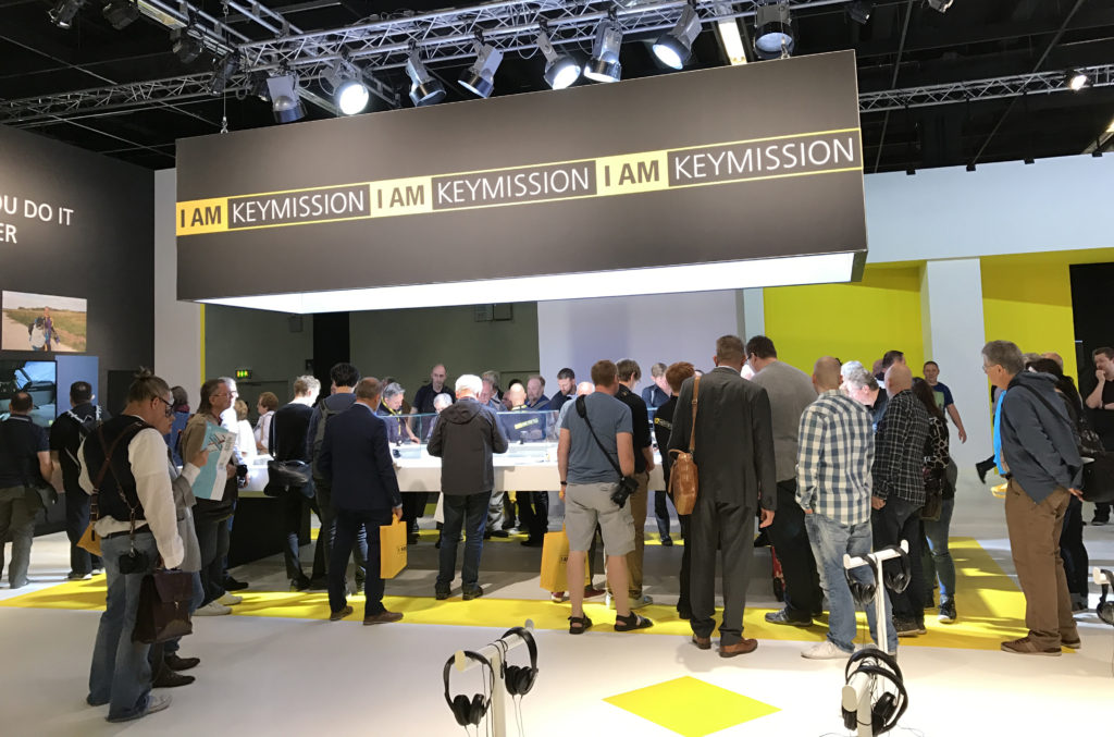 Nikon KeyMission Booth at Photokina 2016