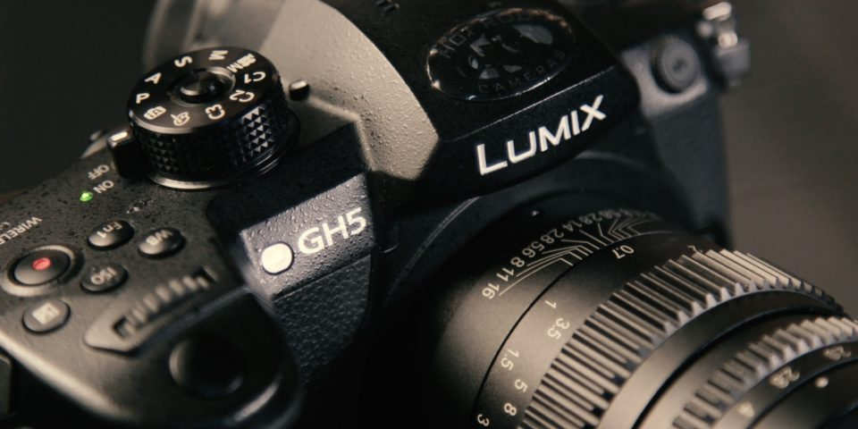 Panasonic GH5 Mode Dial