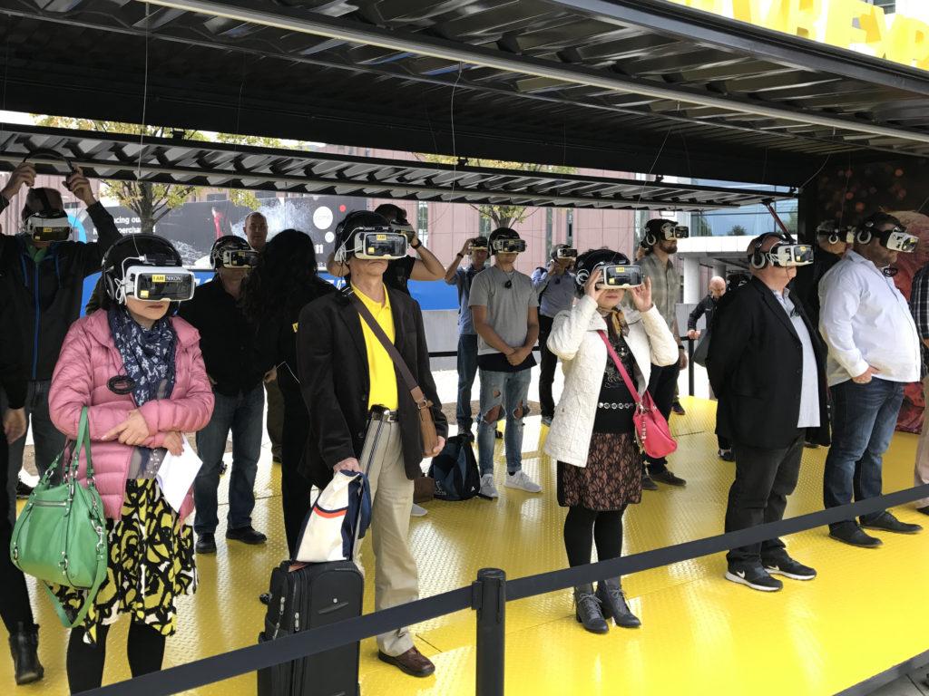 Nikon VR Interactive Booth
