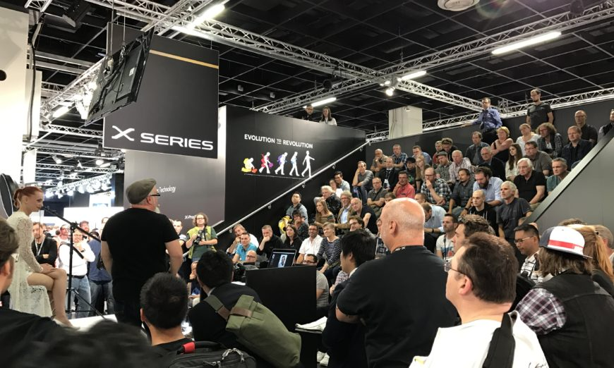 In the stands at Photokina 2016