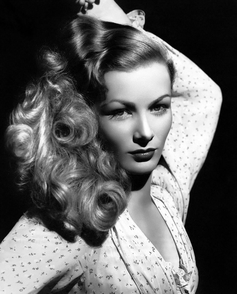 Veronica Lake (Example of an image that could be taken with a beauty dish.)
