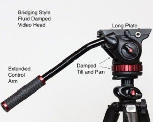 Video Head with Control Arm