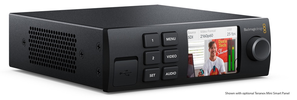 Blackmagic Design Web Presenter with optional Teranex Mini Panel