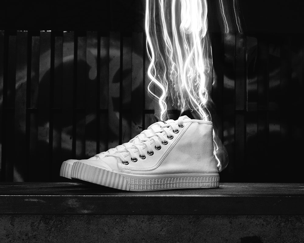 Shoe effects - painting with light