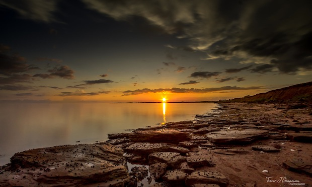 PEI Sunset by Trevor Chapman