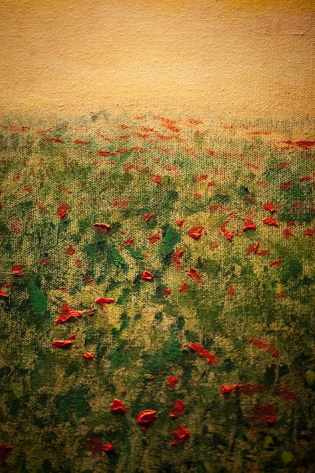 Poppy Painting by Wendy Teal