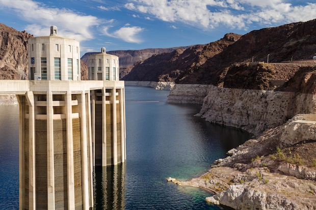 Lake Mead-Hoover Dam by Eric Maginnis