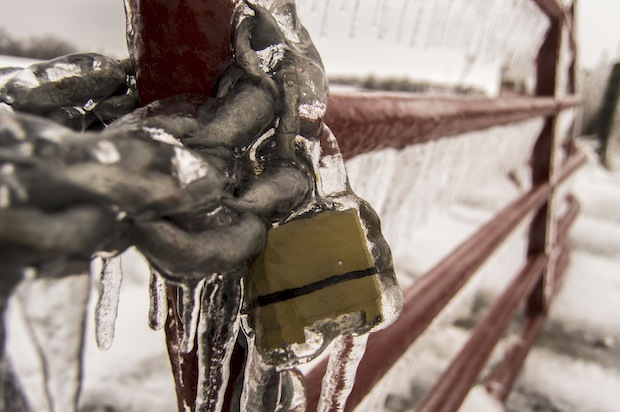 Lock De-Icer Anyone by Freaktography