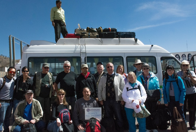 The Peru Adventure Group After Arriving in Cuzco