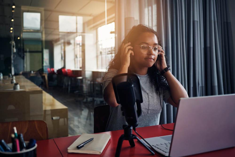 Starter podcasting equipment