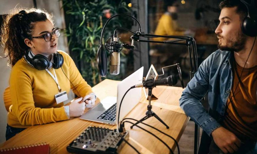 Learn how to create interview podcasting