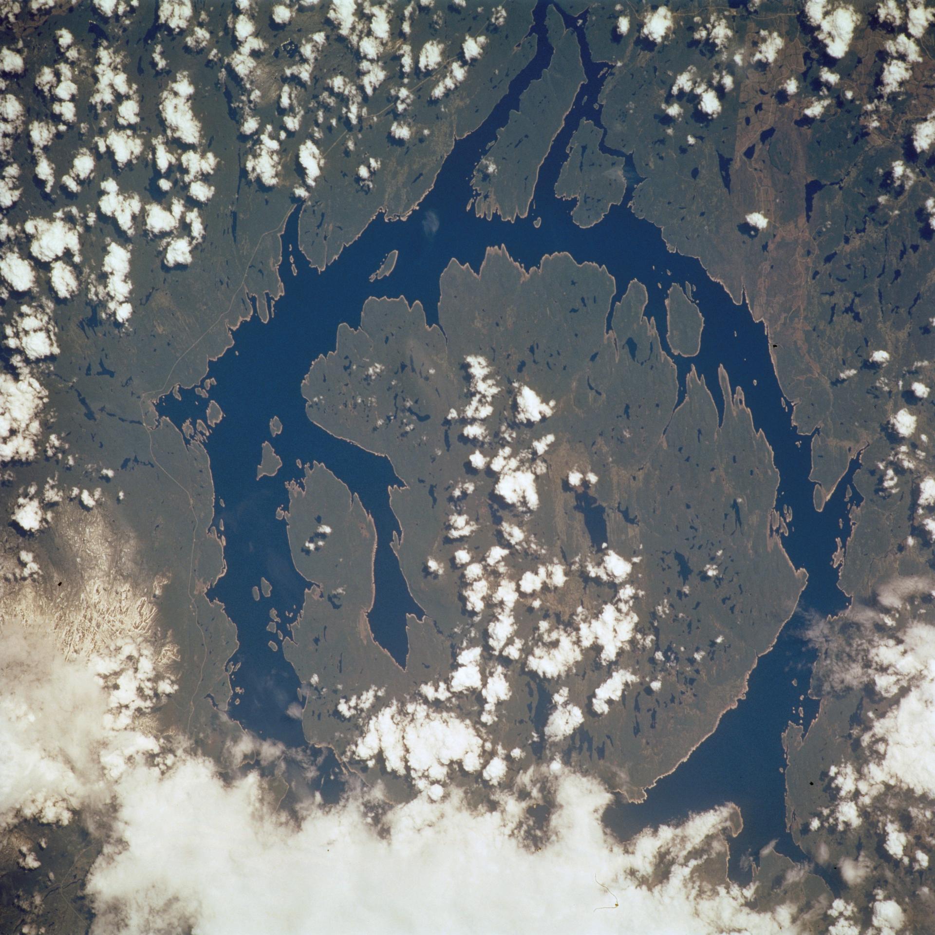 Manicouagan Reservoir, Quebec